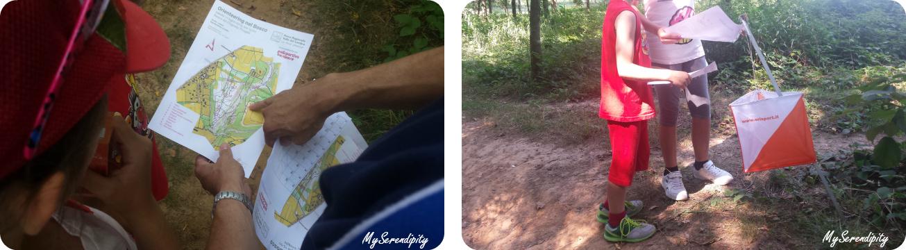 orienteering bosco del chignolo