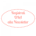 Registrati ora alla newsletter