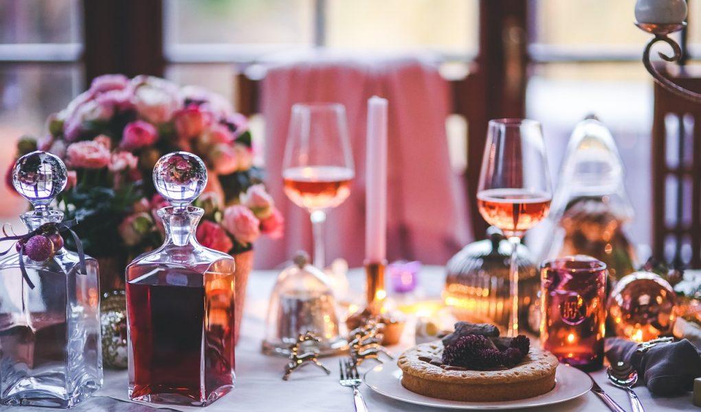 look perfetto per una cena romantica